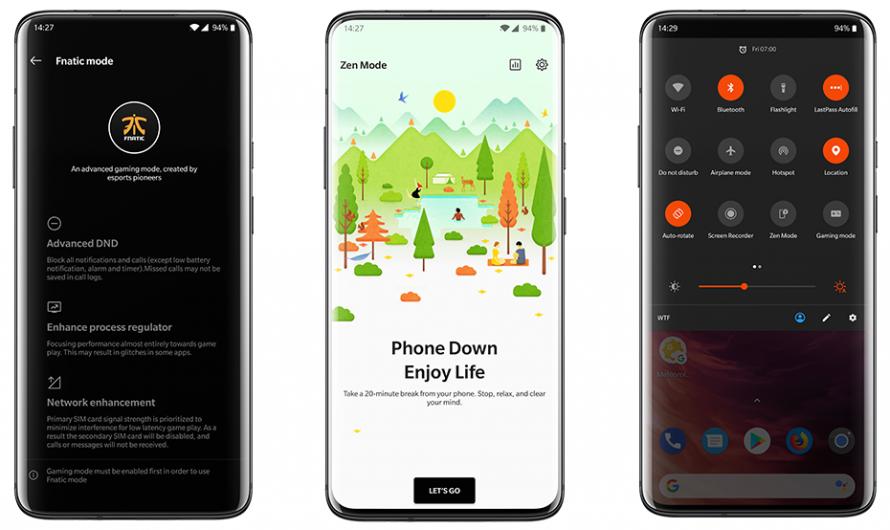 Welche OnePlus Modelle erhalten das Update auf Android 10?