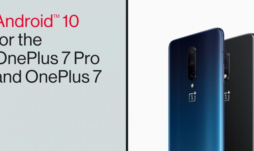 OxygenOS 10.0 für das OnePlus 7 und 7 Pro verfügbar