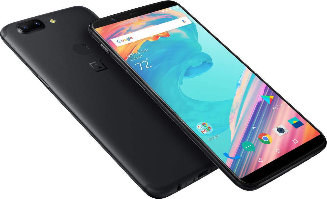 OnePlus 5T Seitenansicht