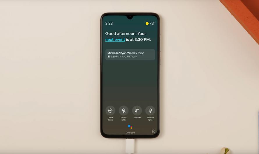 Ambient Mode mit Google Assistant Unterstützung